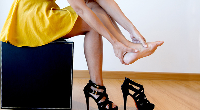 Elinizde ve ayak tabanınızda ben varsa…