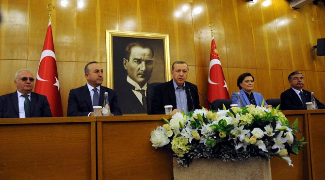 Erdoğan'dan AYM'nin Can Dündar-Erdem Gül kararına yorum