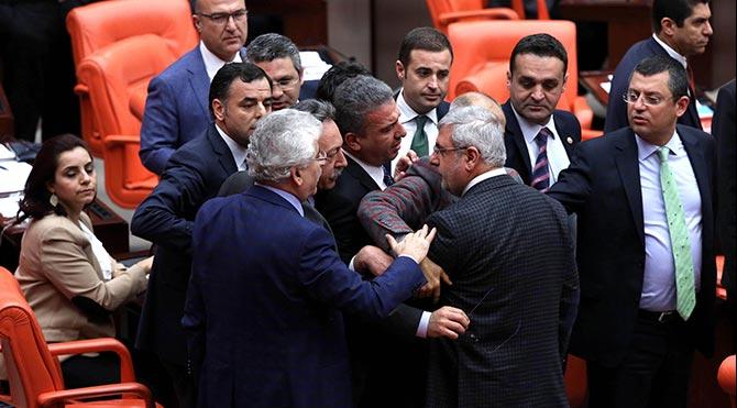 Erdoğan'ın AYM sözleri Meclis'te tartışma yarattı!