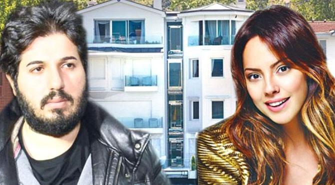 Ebru Gündeş ve eşi Reza Zarrab'ın 10 milyon TL'lik orman evi
