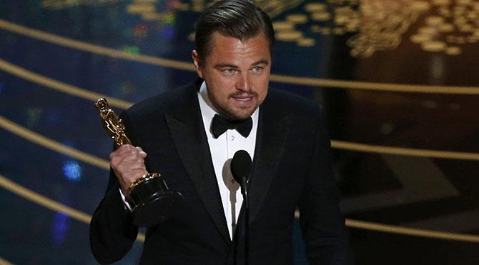 DiCaprio Oscar'ı nasıl aldı?