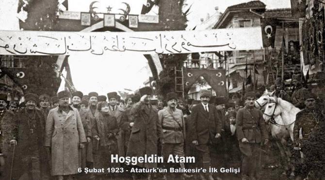 Balıkesir`de Atatürk coşkusu