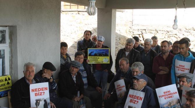 Mersin`de çevrecilerden çimento fabrikası protestosu