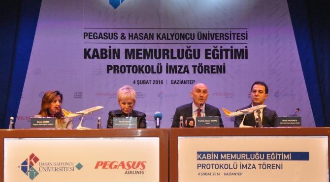Gaziantep Hasan Kalyoncu Üniversitesi kabin memuru yetiştirilecek