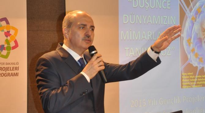 Numan Kurtulmuş: Bu Anayasa Türkiye`yi taşımıyor