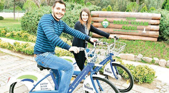 İzmir'de bisiklete ilgi büyüyor