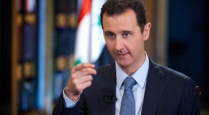 Suriye lideri Esad'dan silah bırakanlara af