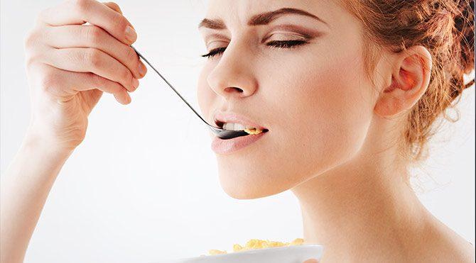 Yemeği gözleriniz bağlı yiyin