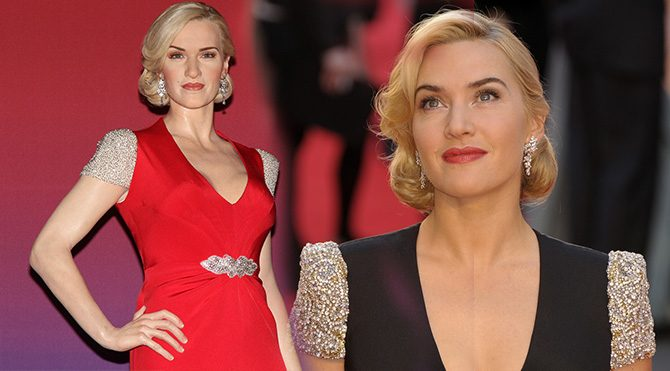 Bu da Kate Winslet'in heykeli