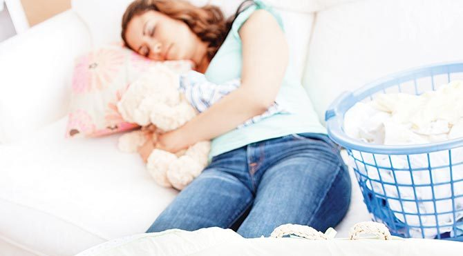 Annelerin en büyük kâbusu uykusuzluk