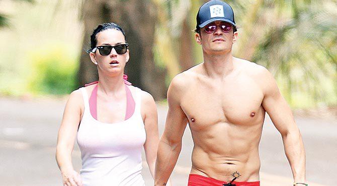 Orlando ve Katy'nin aşkı ortaya çıktı