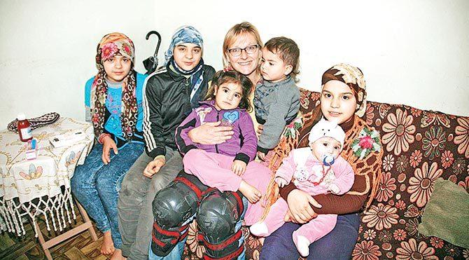 Mültecilerin Sophie ablası
