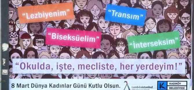 Kadıköy Belediyesi'nden çok konuşulacak afiş