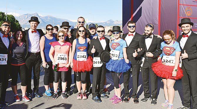 Antalya'da maraton heyecanı