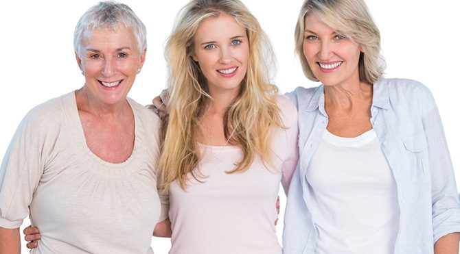 Kadınlar hangi yaşta nasıl beslenmeli?