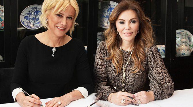 Prof. Dr. Neşe Kavak ve Feryal Gülman Foto: Bülten