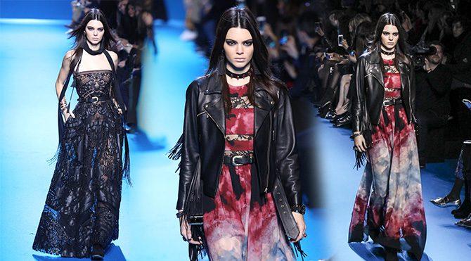 Paris Moda Haftası'nı masal dünyasına çevirdi