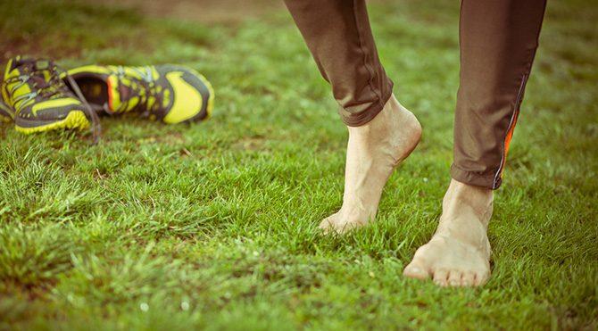 Çıplak ayakla koşmak daha sağlıklı!