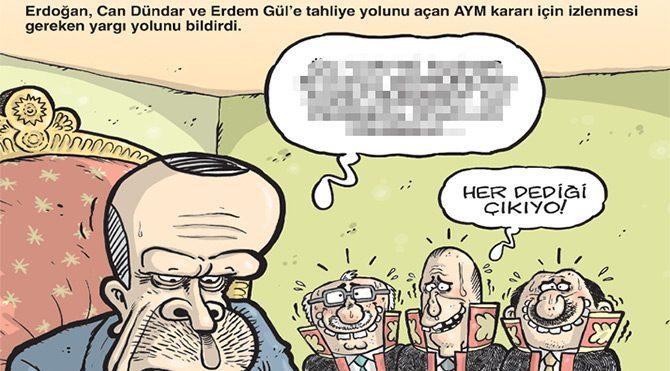 Erdoğan'dan AYM kararına itiraz