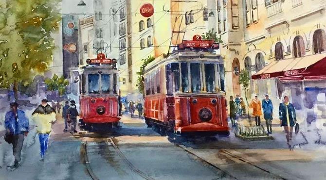 İstanbul'un eşsiz manzarasına büyülü dokunuş…