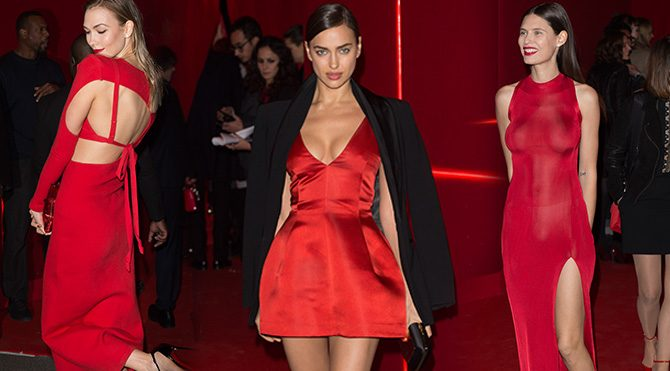 Paris'te L'Oreal Red Obsession Party