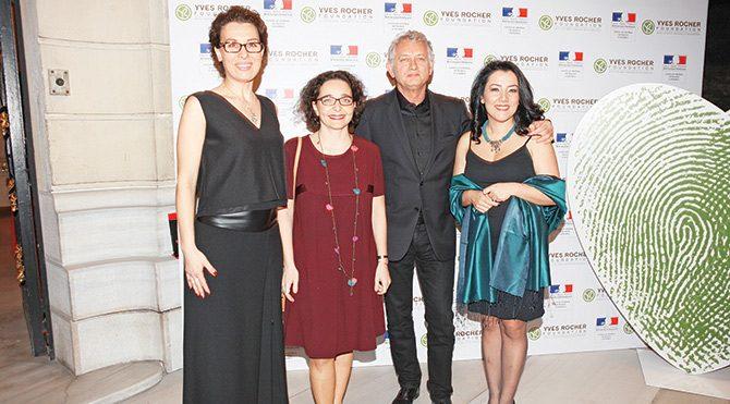 Fransa Sarayı'ndan Türk kadınına ödül