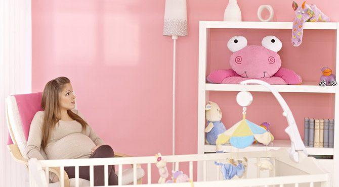 Toksik madde içermeyen bir bebek odası için…