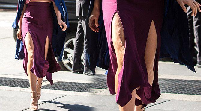 Bu bacak bir Victoria's Secret modelinin