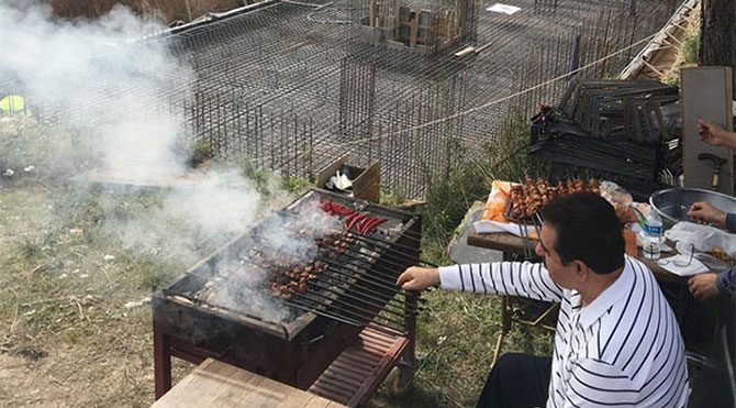 İbrahim Tatlıses inşaatını yaptığı konutlardan fotoğraf paylaştı