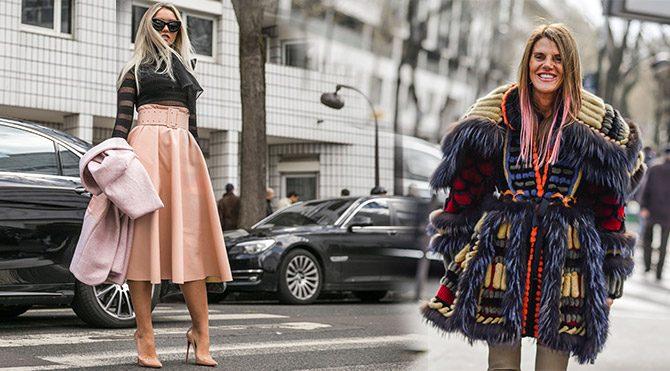 Paris Moda Haftası'nda sokak şıklığı