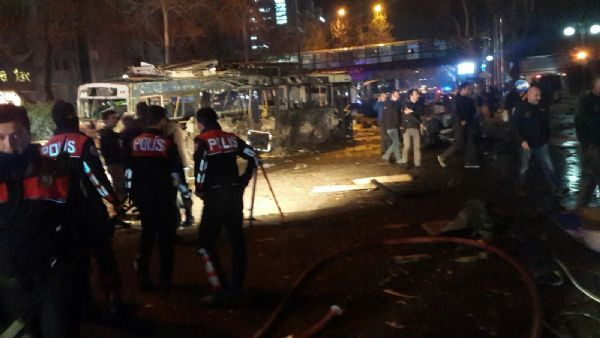 Ankara Kızılay explosion occurred.  The explosion of the city's busiest area ...