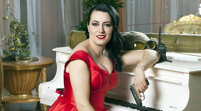 Inna Barabasha, görev silahının artık kendisinin bir parçası haline geldiğini söyledi.