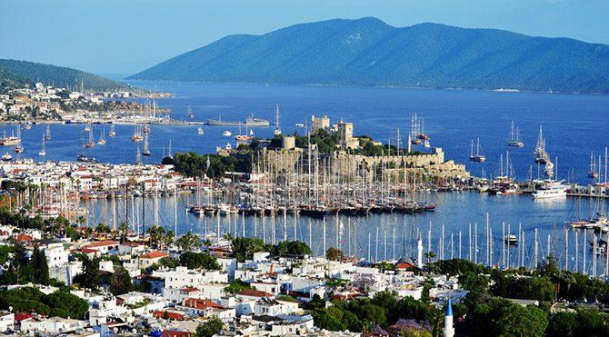 Türkiye'nin en önemli turizm merkezi: Bodrum