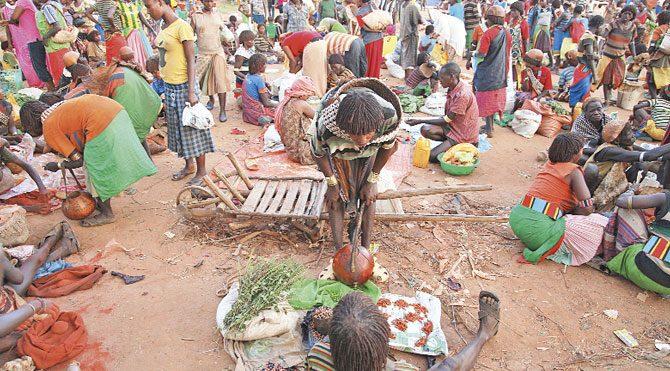 Etiyopya Dimeka Pazarı