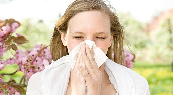 Bahar alerjisine dikkat