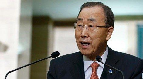 Ban Ki-Moon Fas'ta protesto edildi