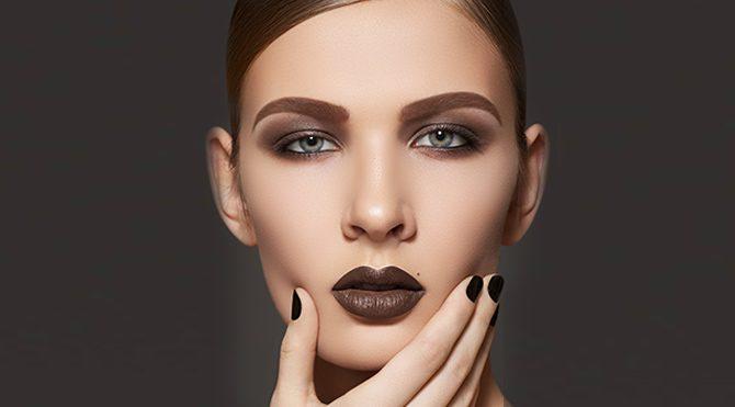Şimdi moda çikolata dudaklar