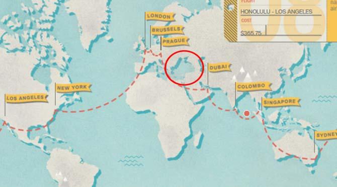 CNN International, dünya haritasından Türkiye'yi sildi!