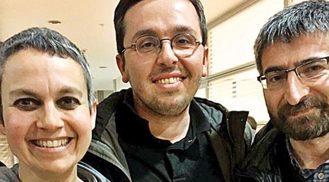 Mahkemeye sevk edilen 3 akademisyen tutuklandı