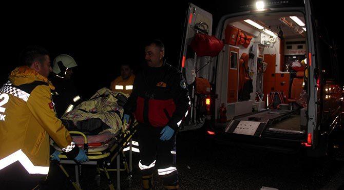 Salihli'de trafik kazası: 3 ölü