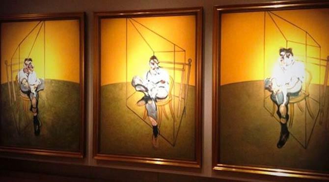 Bacon'ın 5 tablosu bir gecede çalındı