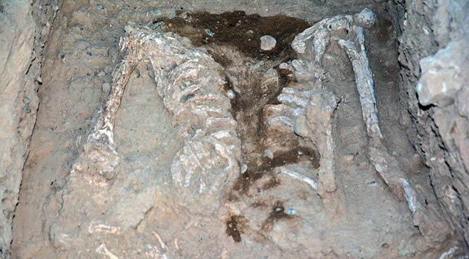 İran'da 7.000 yıllık mezarlık bulundu