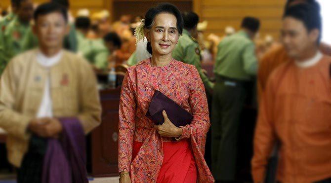 Myanmar'da demokrasi kazandı