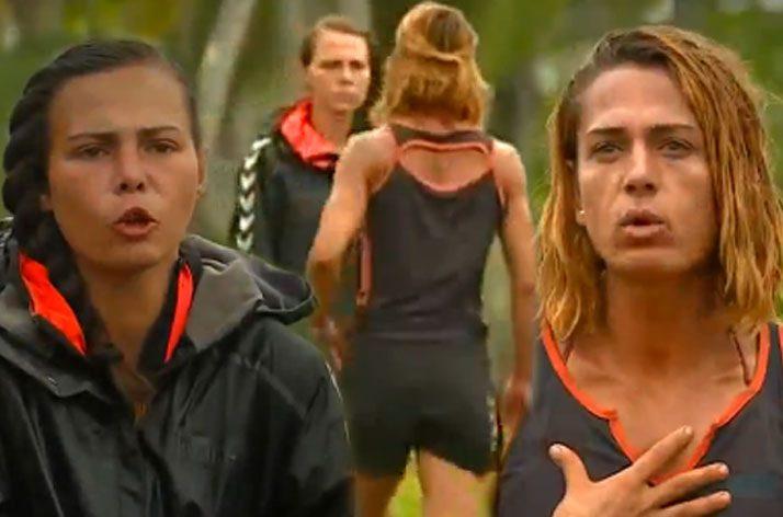 Survivor 2016′da Eda ve Nagihan'ın kavgasını kimse ayıramıyor!