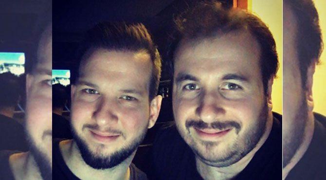 Şahan ve Togan Gökbakar, telefon uygulamasıyla yüzlerini değiştirdi