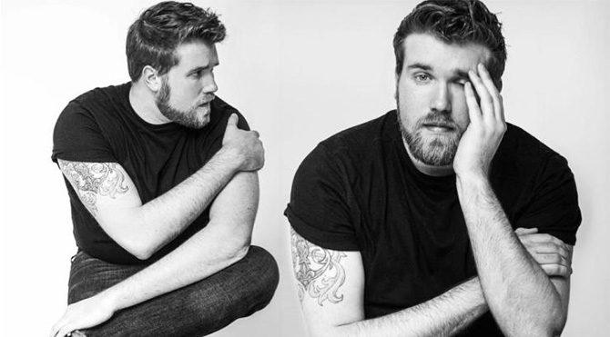 İlk büyük beden erkek model Zach Miko