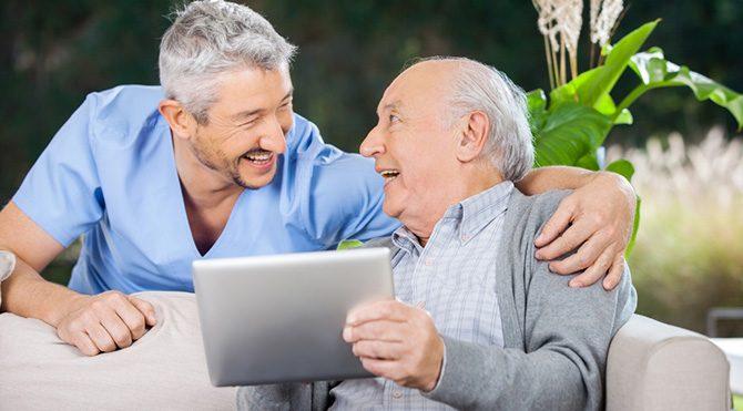 Teknoloji yaşlıların yaşamını kolaylaştırıyor