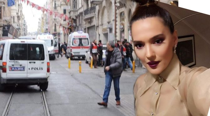 Demet Akalın, Taksim'deki patlama hakkında paylaştı