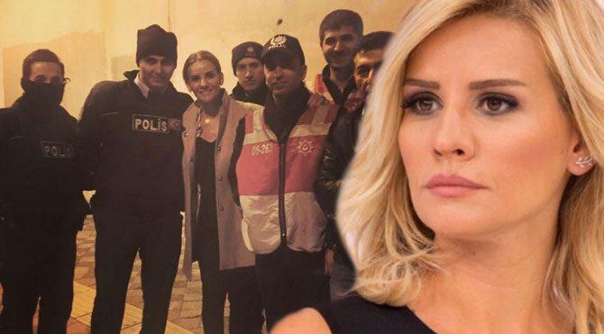 Esra Erol'dan polis paylaşımı