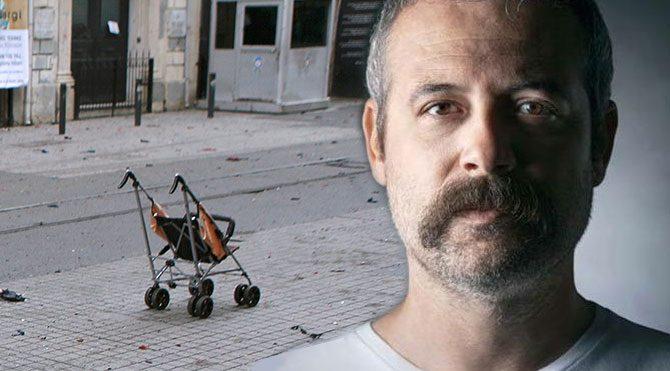 Levent Üzümcü'nün Taksim saldırısına tepkisi